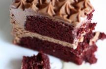Zoe Bakes . . . Red Velvet Birthday Cake