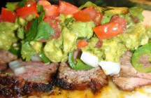 Grilled Chile-Marinated Filet Mignon Tacos