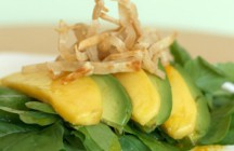 Avocado and Mango Salad with Tequila-lime Vinaigrette