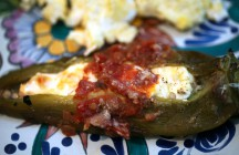 Stuffed Anaheim Chile Peppers
