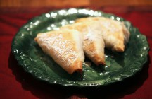 Apple Pecan Phyllo Triangles (Turnovers)