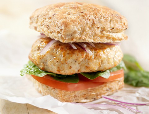 Very Tender Asian Turkey Burgers