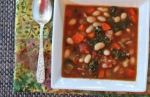 Tuscan White Bean and Sausage Stew