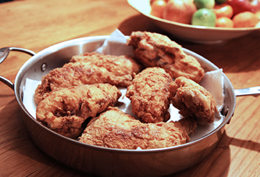 best brined buttermilk fried chicken recipe